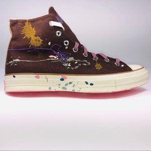 Converse Bandulu Chuck 70 Hi Brown Multicolor Shoe
